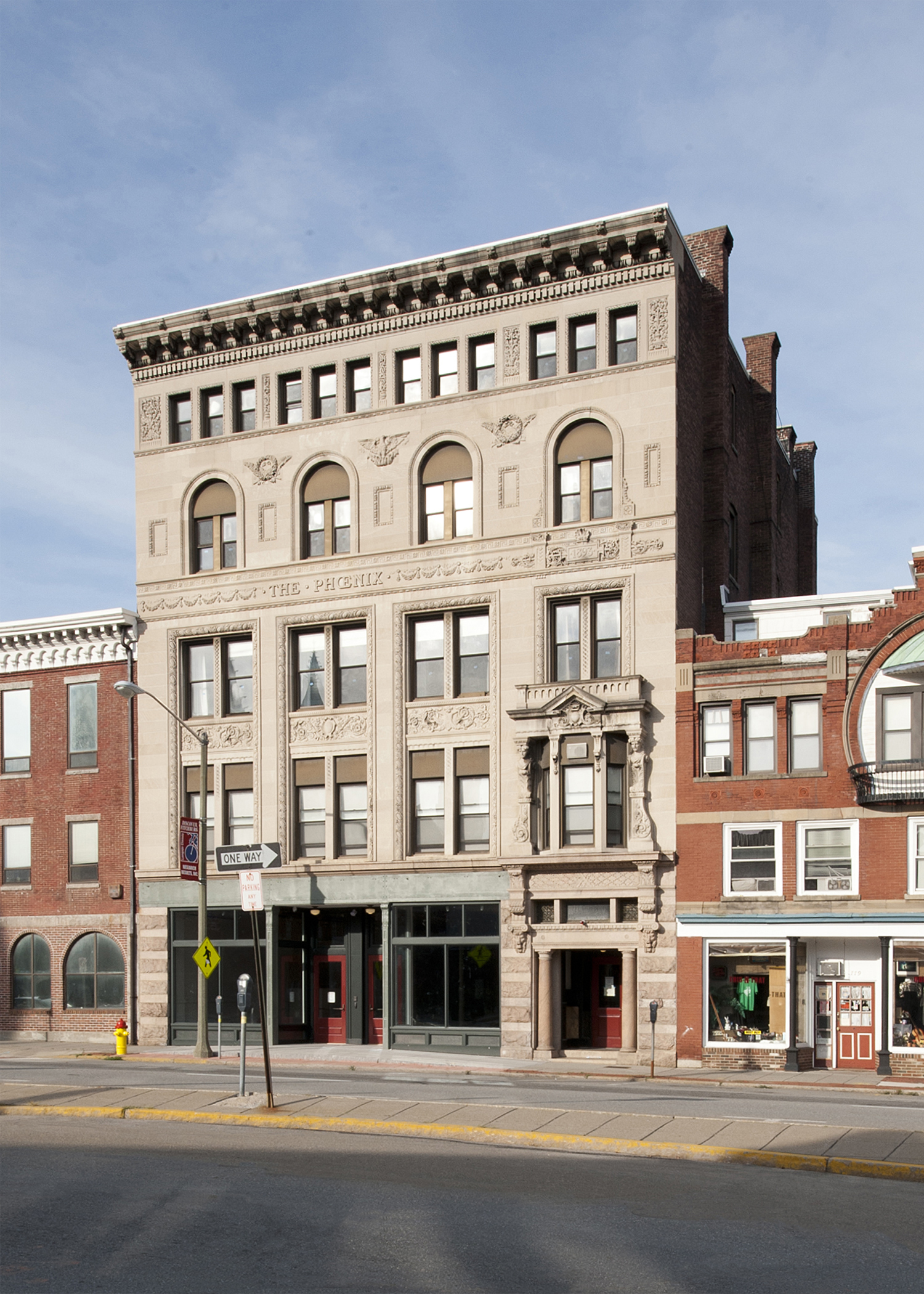 Fitchburg Historical Society, Phoenix Building headquarters