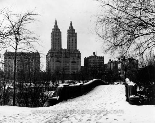View of The San Remo Apartments from Central Park, 1932