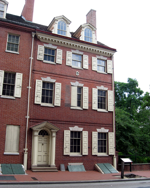The Bishop White House was home to William White, his wife, their children and many of his grandchildren.