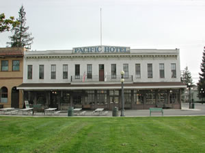 The Pacific Hotel replica in History Park (image from History San Jose)