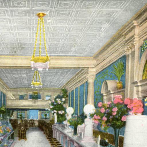 Original O'Brien's interior circa 1905 (image from San Jose Library)