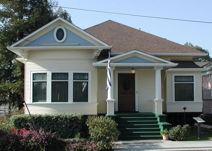 The Nelson-DeLuz House, home of the Hellenic Heritage Museum (image from History San Jose)
