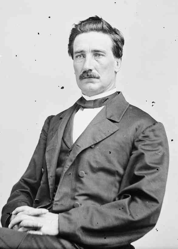 General John D. Imboden, Confederate commander during the Jones-Imboden raid.