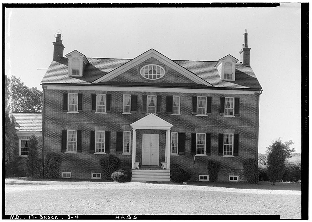 Historic American Buildings Survey (Library of Congress). West Elevation.