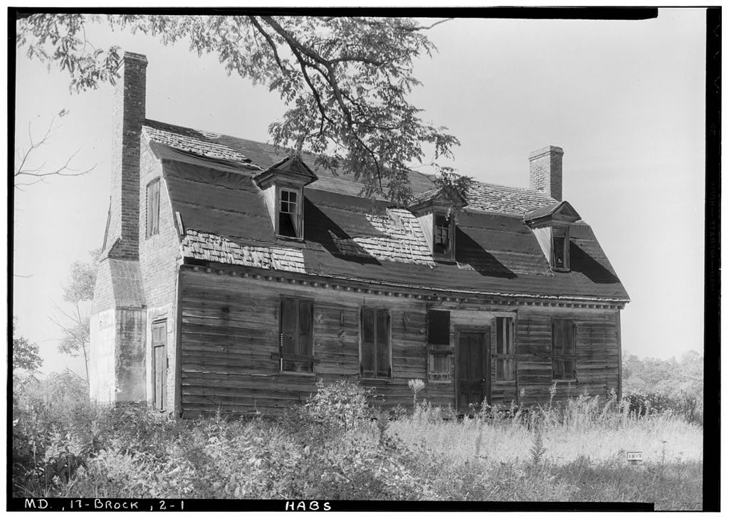 Historic American Buildings Survey (Library of Congress). Albert S. Burns, Photographer October 5, 1935. View from southeast.