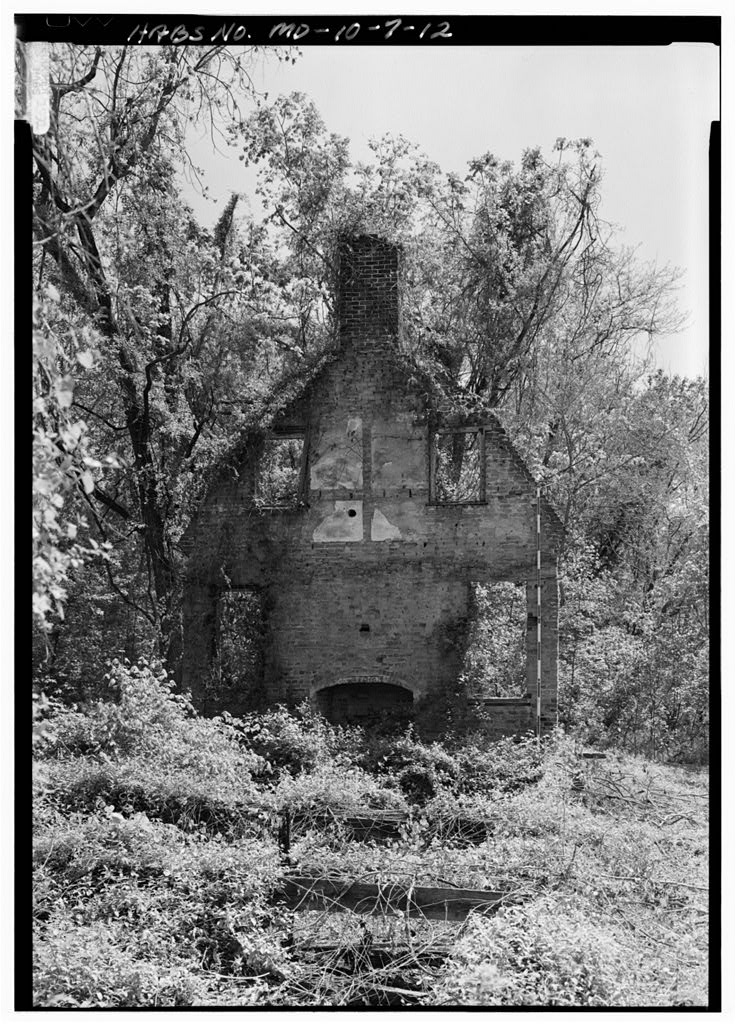 Interior of South Wall Looking Southsoutheast. Historic American Buildings Survey (Library of Congress).