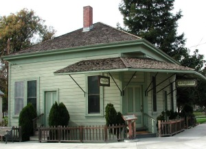 Dr. Warburton's Office in History Park (image from History San Jose)