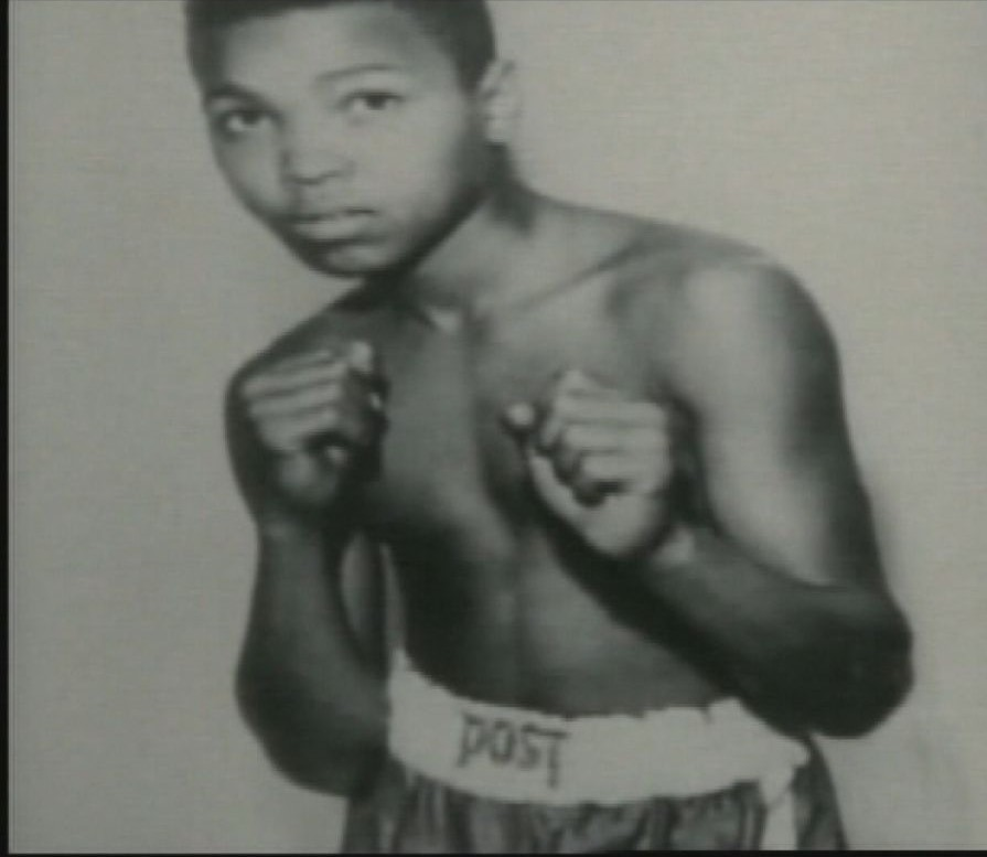 this is 12 year old Cassius Clay, a young boy who decied to take up boxing and put his quick feet to good use. He was a quick leaner and pushed himself to his capacity, with his family behind him he already had the mindset that he was going to be one of the greats.
