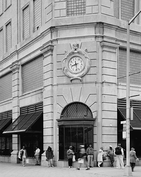 Image of Rich's Department Store shortly before the company was purchased by Federated