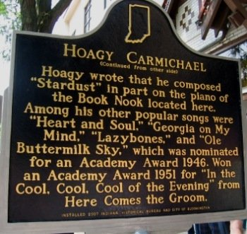 "Not only did he compose music, Hoagy also sang, acted, and led his own band. During his time in college, he had had a band known as ""Carmichael's Collegians"". The nickname Hoagy was given to him by a college girlfriend."