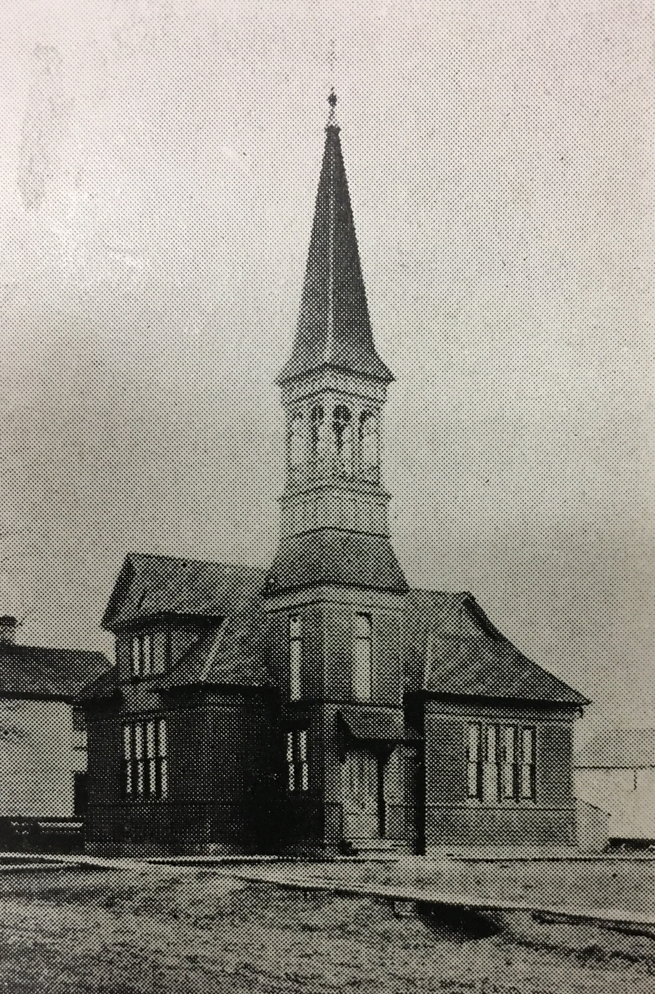 The church sometime after its construction. Courtesy of the Ceredo Historical Society Museum.