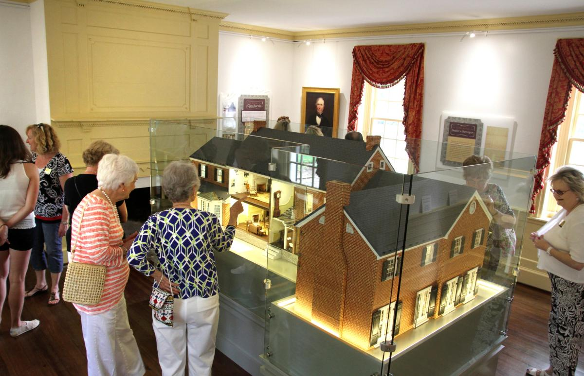 Model of the Glen Burnie House