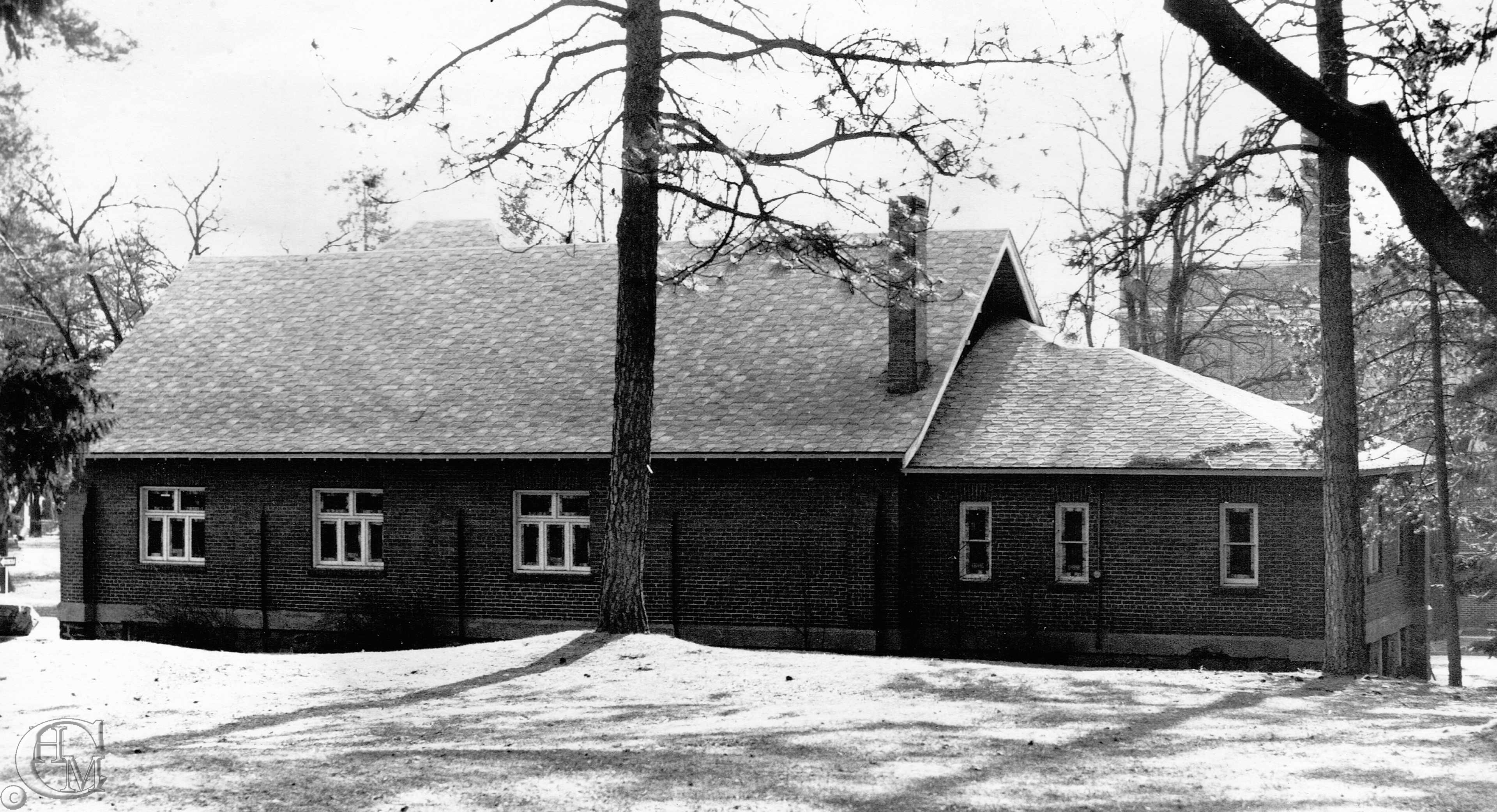 Back of the church 1959