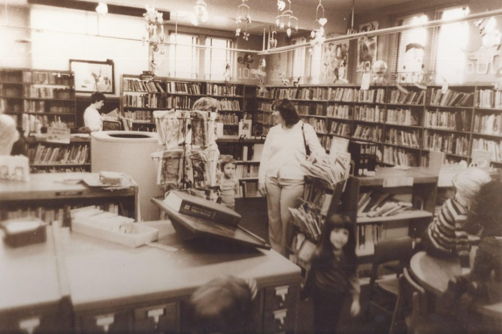 Interior of the Carnegie Library