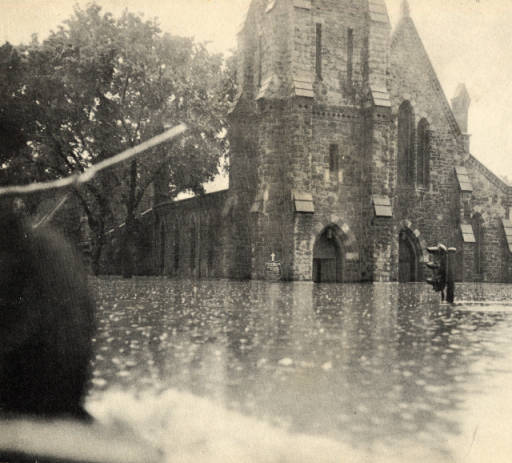 Christ Episcopal Church in the 1936 Flood