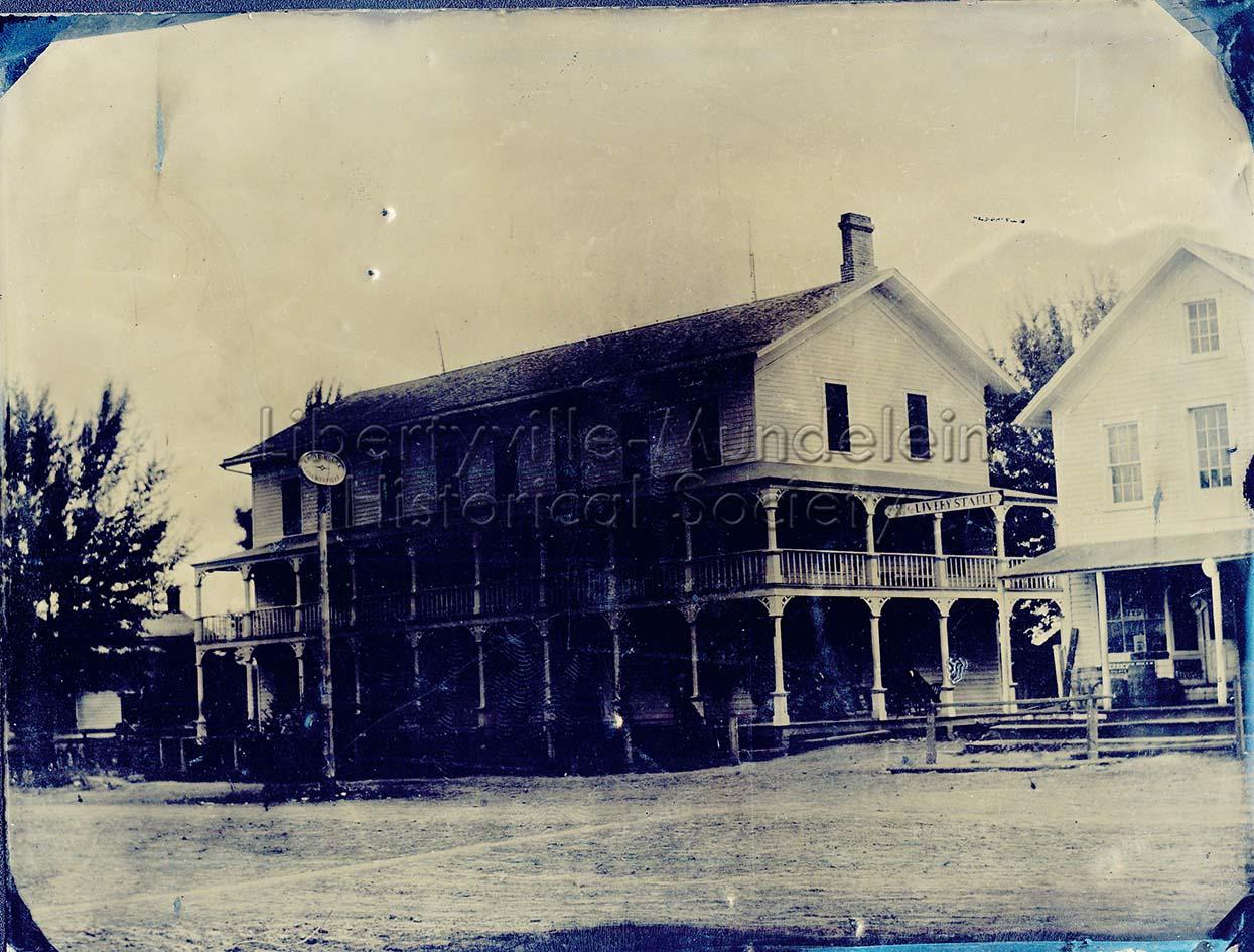 The Grove Hotel, circa 1865