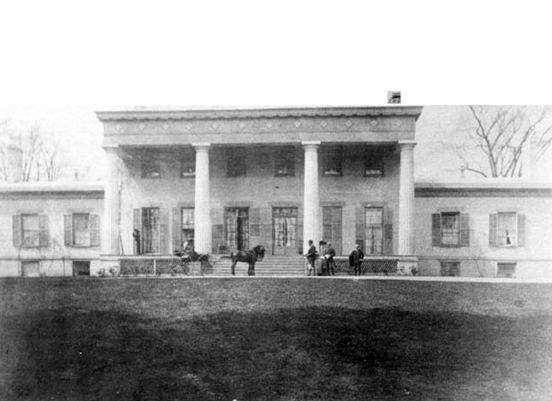 The Facade of the Original Mansion, 1832