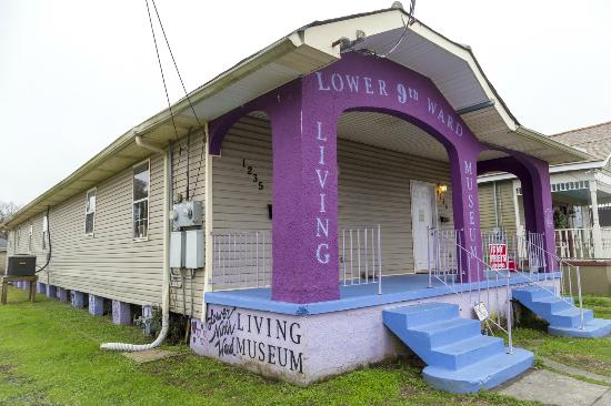 The Lower Ninth Ward Living Museum was founded in 2011.
