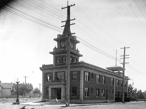 Old Georgetown City Hall Ca. 1910
