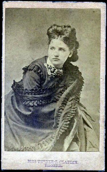 Tennessee Claflin - Public Domain Image