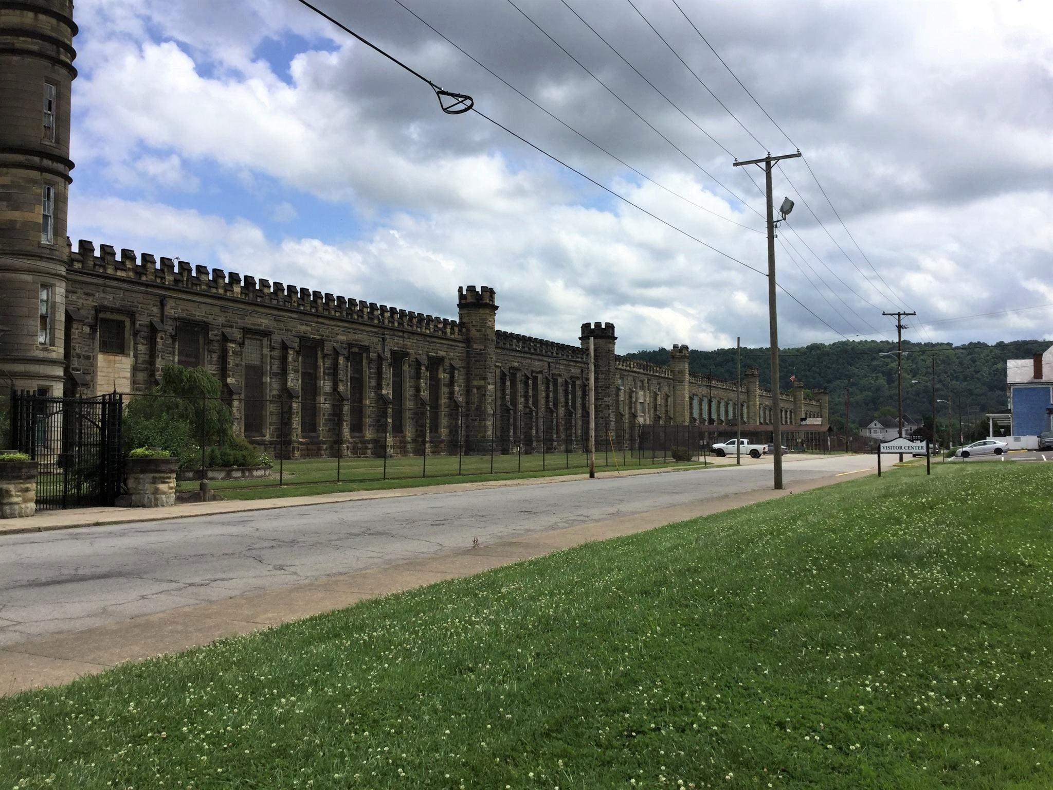 State Penitentiary looking south from the front entrance.