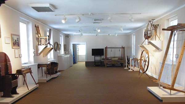 Exhibit in the Senate House Museum
