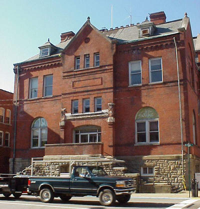 This building was once Clarksburg's Post Office, Federal Building, and Municipal Building