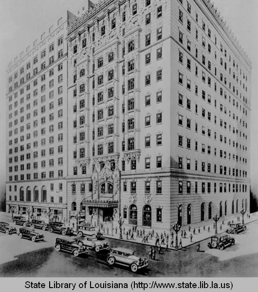 An artist's rendition of what the hotel looked like in the 1930s.  The family-owned hotel managed to survive the Great Depression.