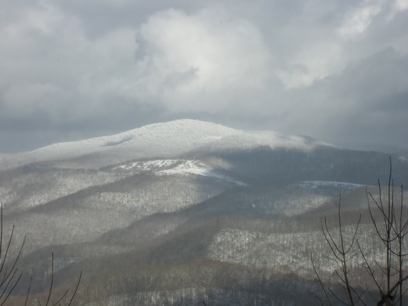 Picture of Cheat Mountain taken from nearby Kelly Mountain Road, north of Elkins