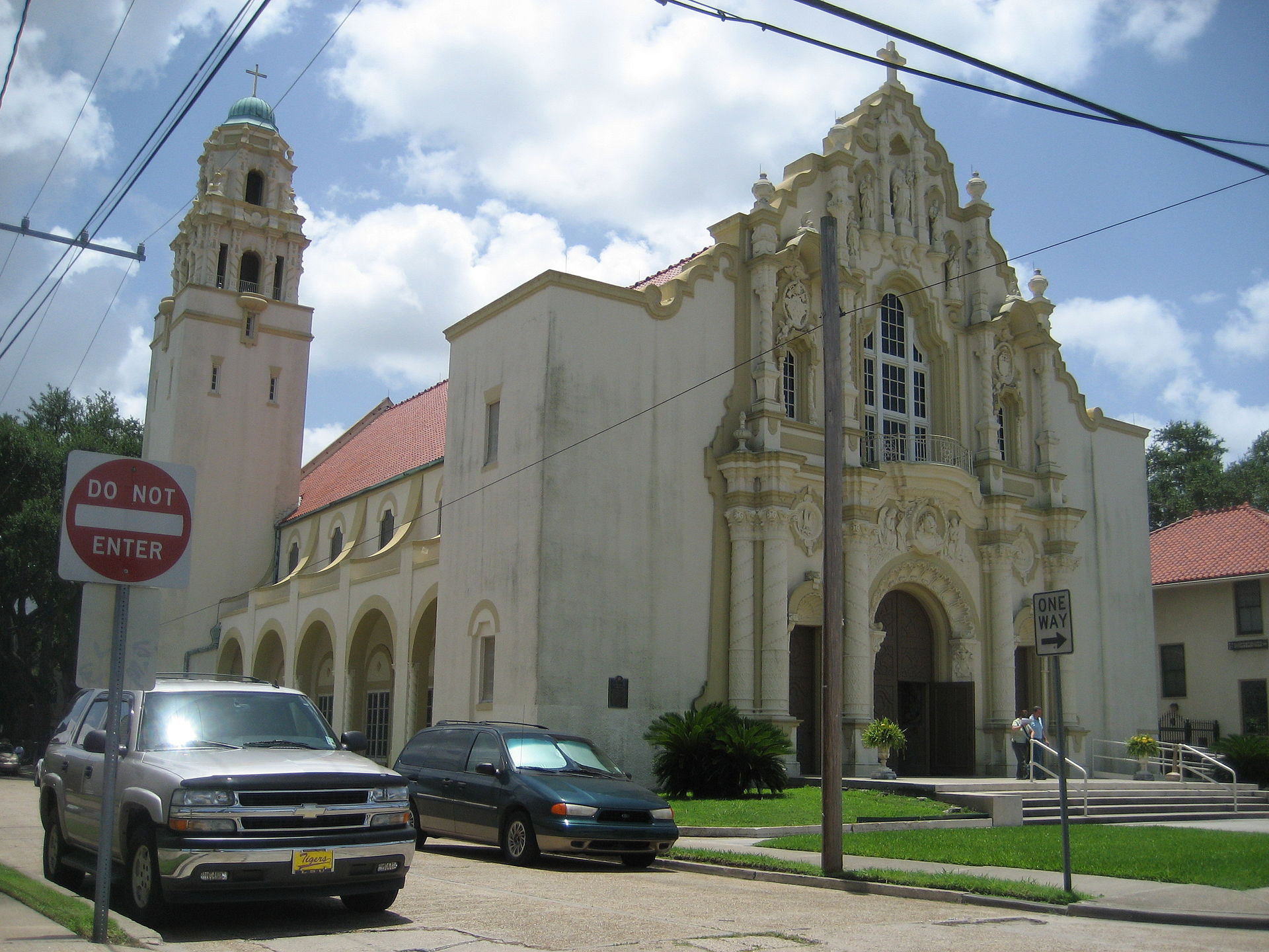 St. Joseph's Catholic Church was built in 1926 and is one of the parish's most prominent landmarks.