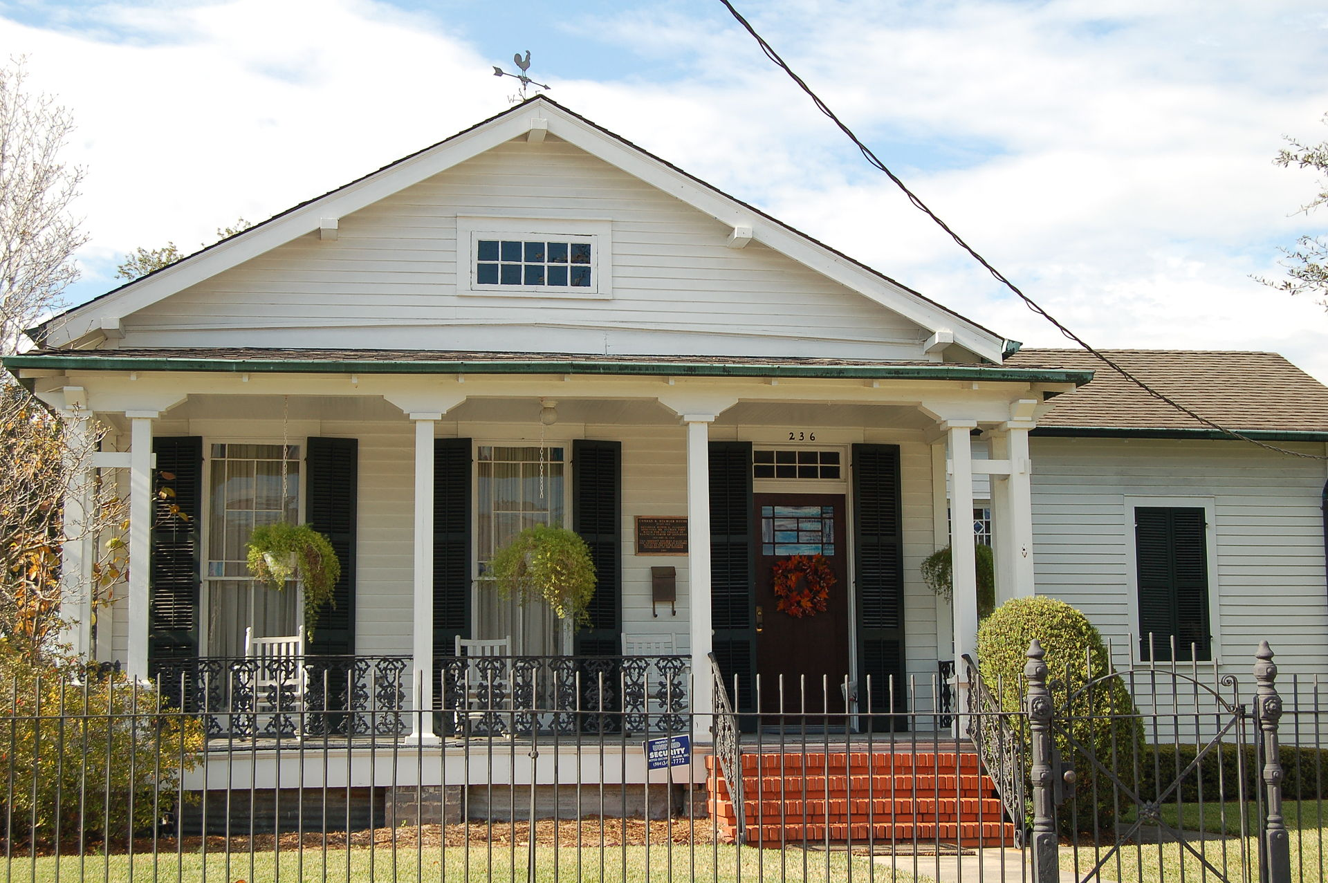 The Conrad A. Buchler House is named after Westwego's first mayor.