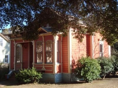 The Umbarger House in History Park (image from Historical Marker Database)