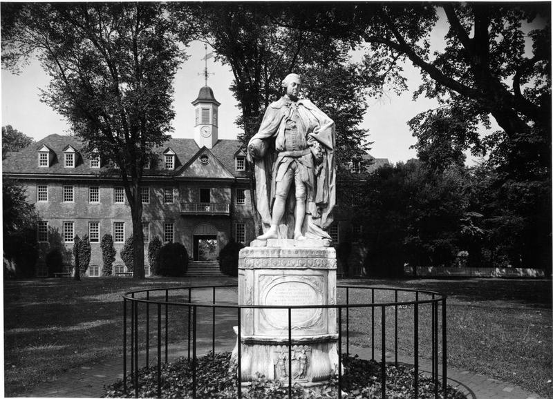 Original Lord Botetourt Statue, 1957