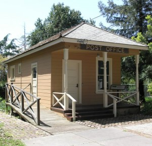 Coyote Post Office. (image from History San Jose)