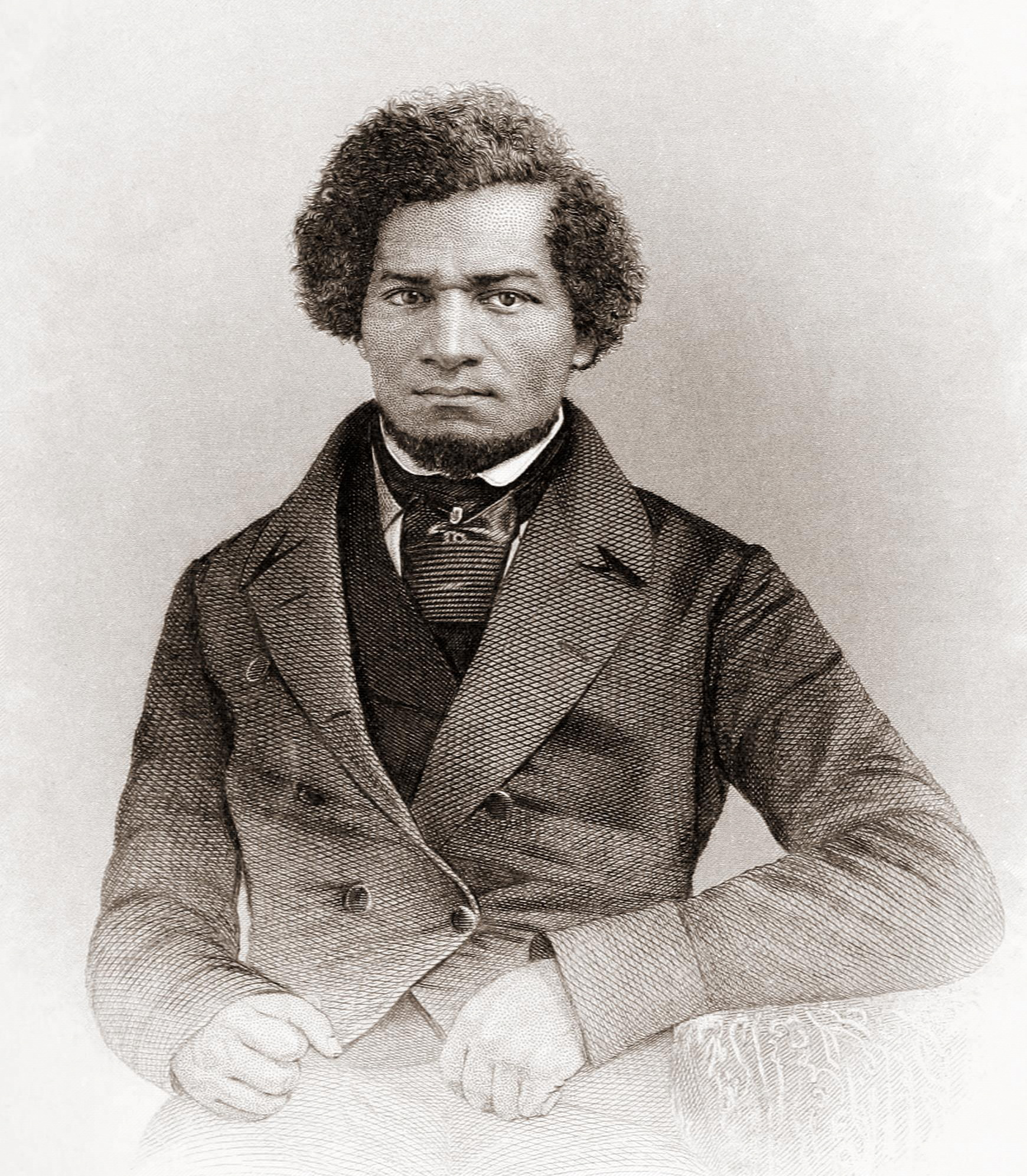 Abolitionist Frederick Douglass spent time as an enslaved child at Wye House in the 1820s.