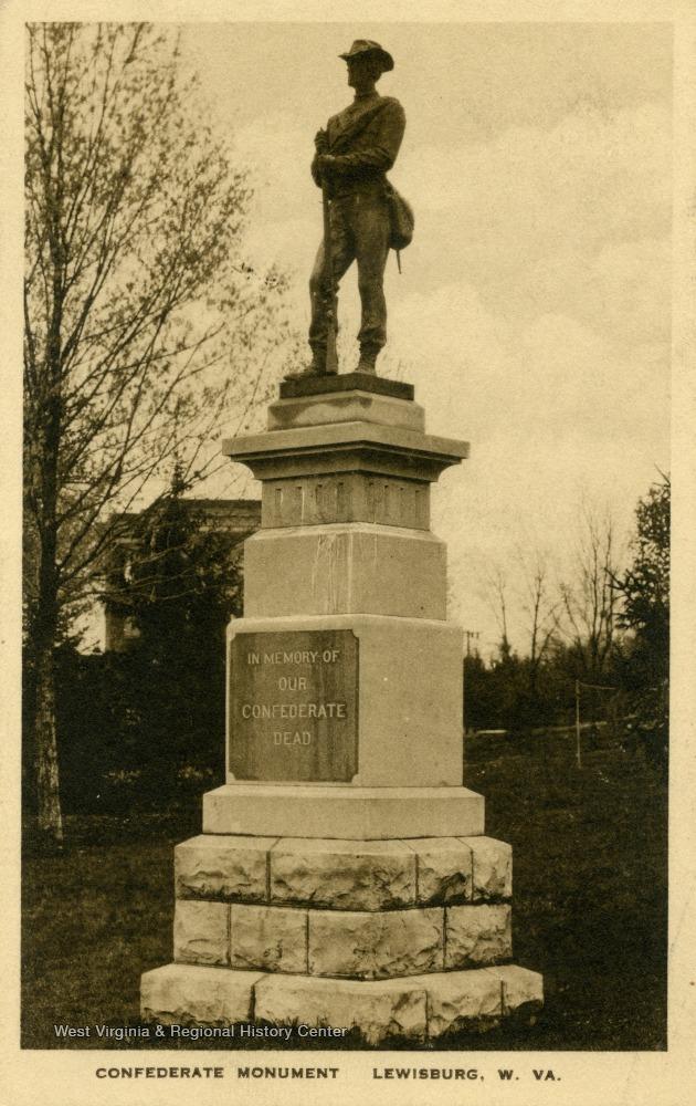 Lewisburg Confederate Monument, 1934
