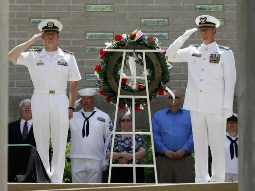 Memorial Day ceremony to honor servicemen at the Patriots Peace Memorial 