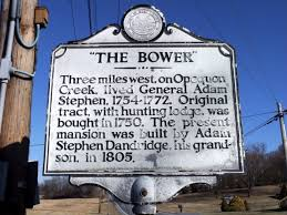 The Bower Historical Plaque