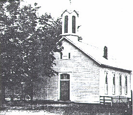 Old Photo of Morgan Chapel