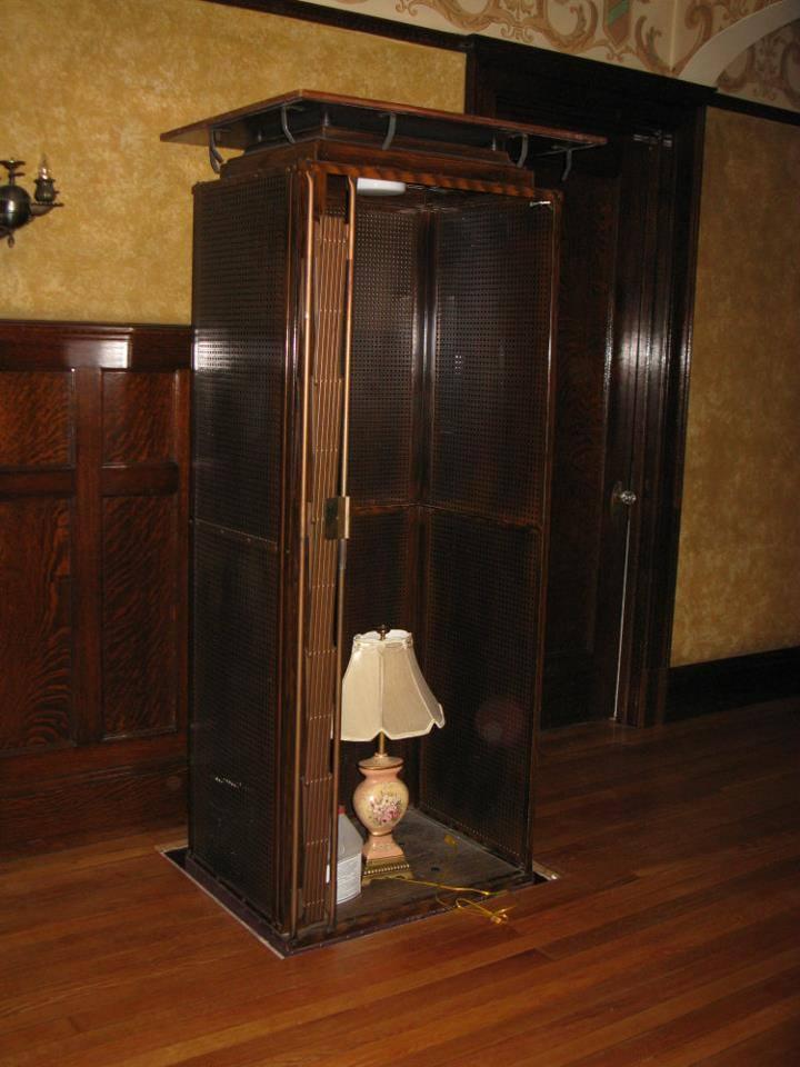 The elevator.