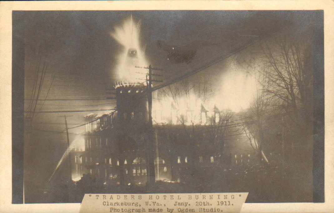 The Traders Hotel fire on January 20, 1911. 
