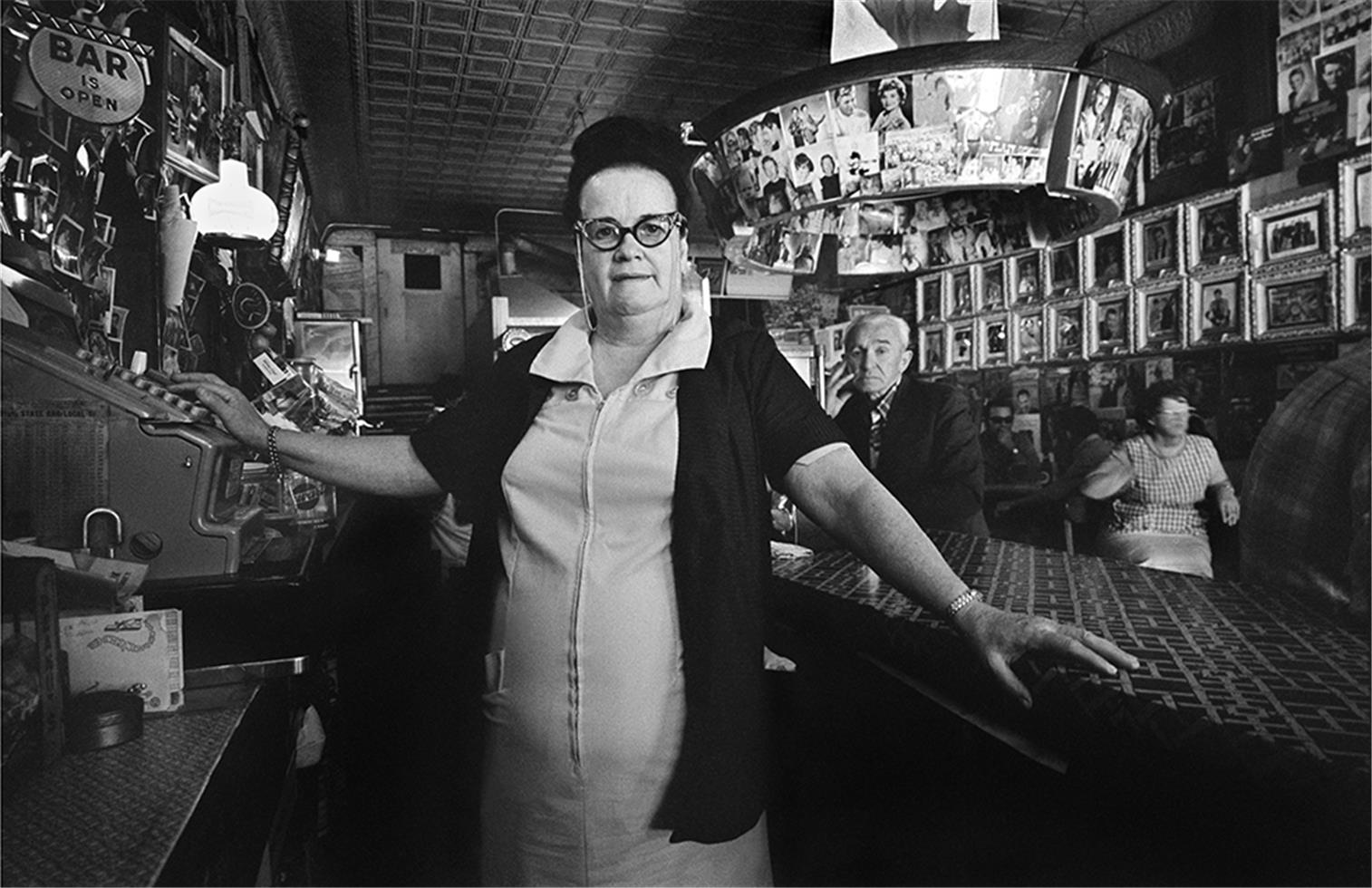 Tootsie Bess Inside Tootsies Orchid Lounge, 1971