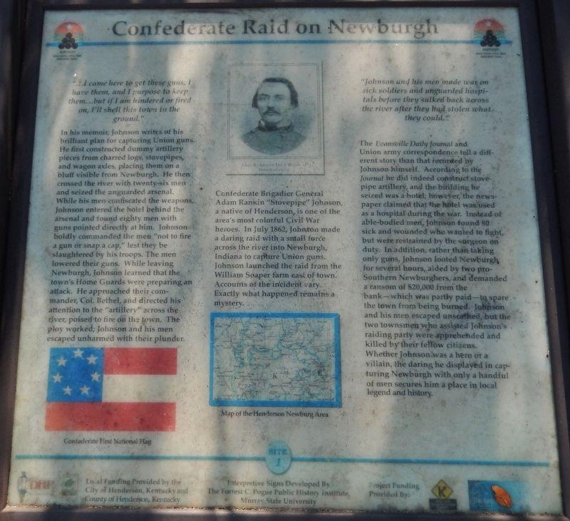 Newburg Raid Marker