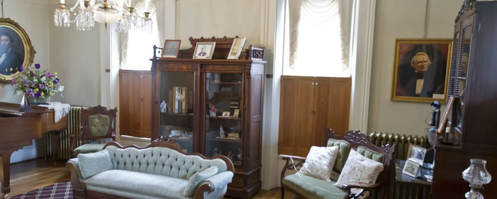 Inside the museum. From the Lawrence County Historical Society website.
