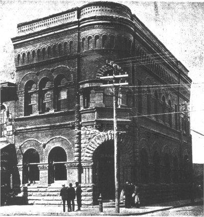 The Merchants Bank Building in 1902, prior to expanding.
