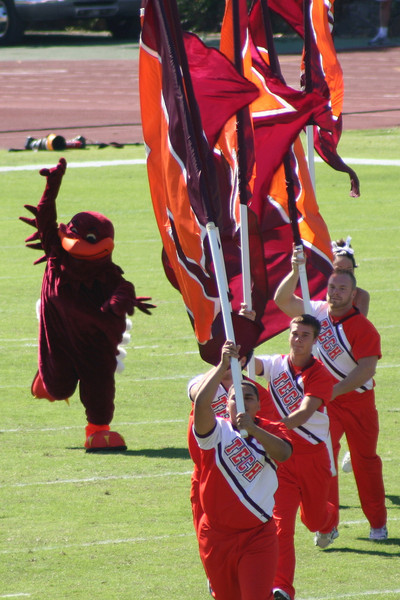 Virginia Tech's mascot, the HokieBird; image courtesy of CC BY 3.0, https://en.wikipedia.org/w/index.php?curid=14199747