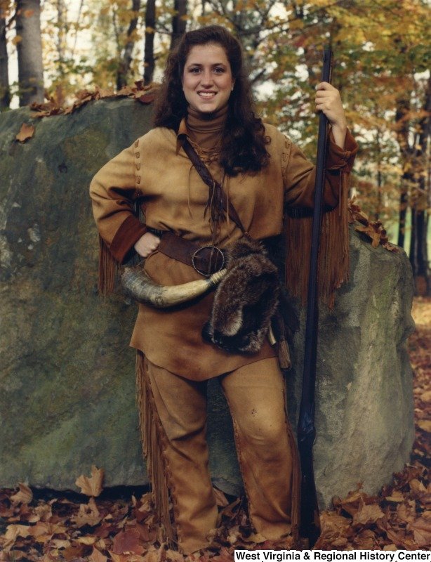 Natalie Tennant, who became the first female selected as Mountaineer in 1991.