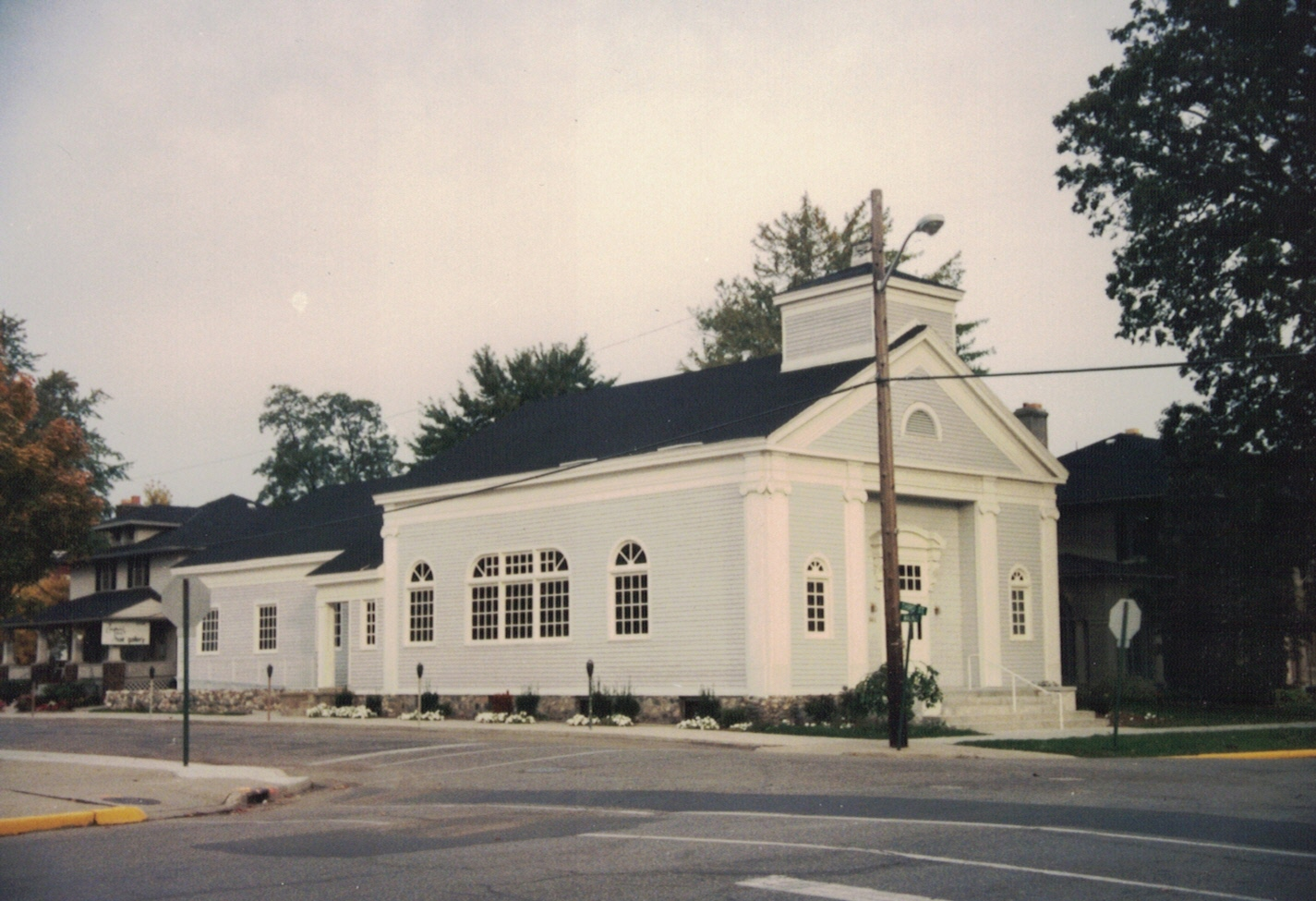 First Congregational Church of Rochester, south and east elevations, 1990