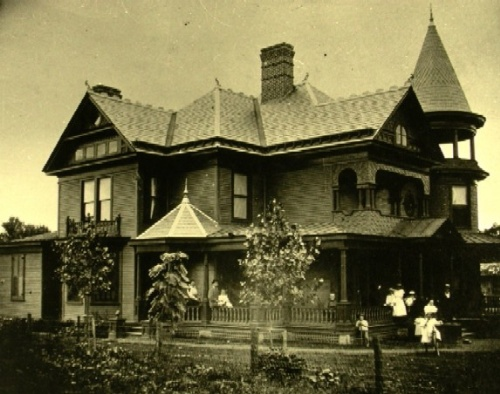 The Alexander Black House was home to Alexander and his family for over 30 years until his death in 1935. Photo obtained from blacksburg.gov.