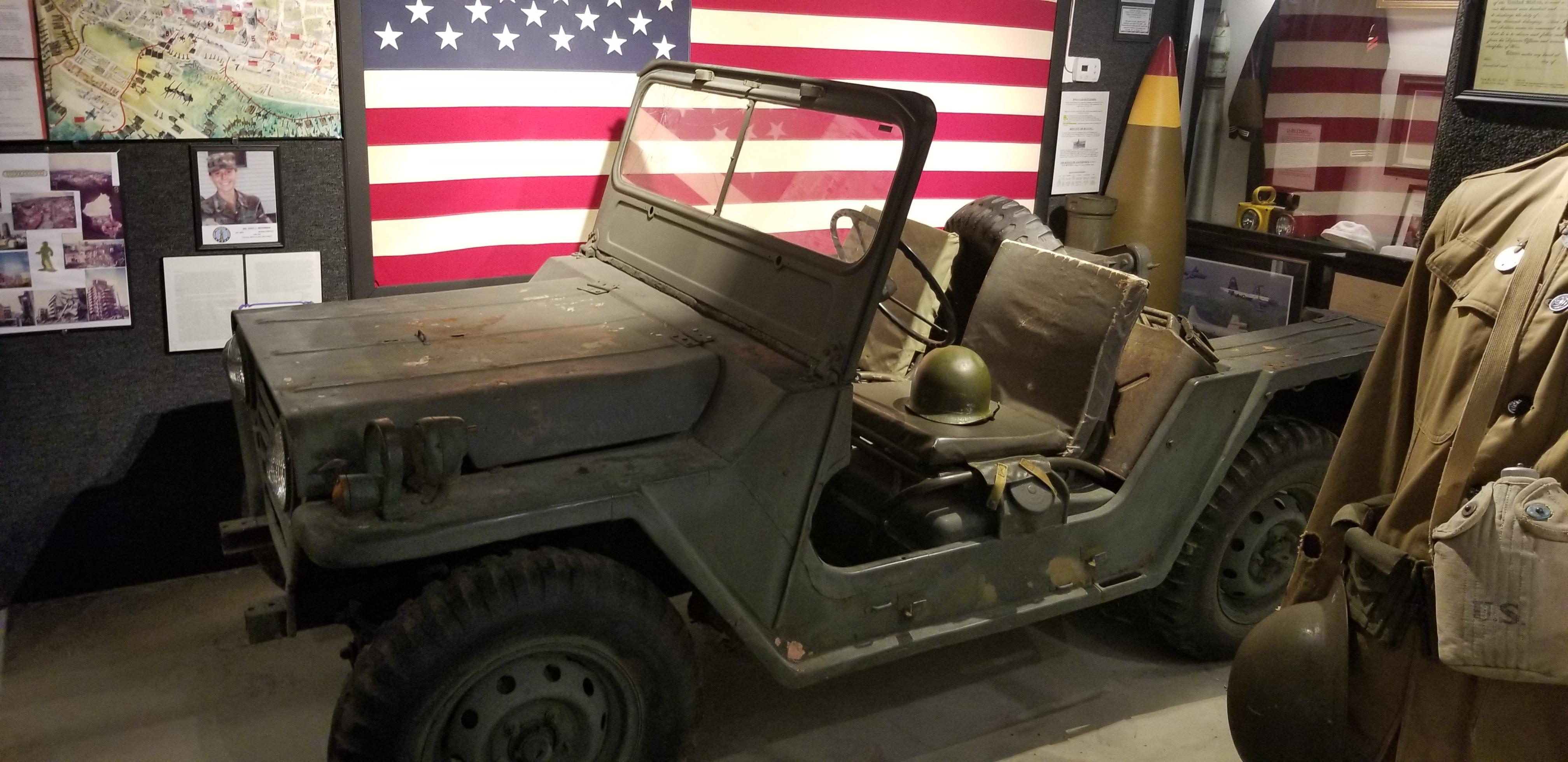 1961 M151 MUT Jeep from Vietnam War